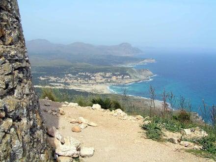 Gipfelblick vom Puig de Son Jaumell (271 m) - Talaia de Son Jaumell