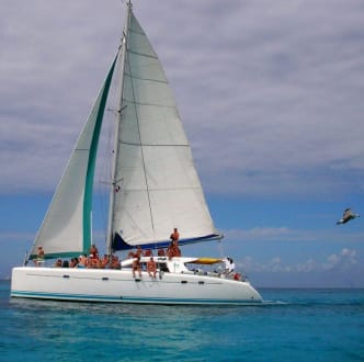 Segelschiff unterwegs nach Saona - Isla Saona