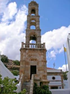 Kirche in Lindos - Panagia Kirche