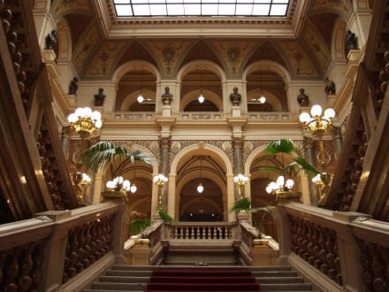 Prag, Nationalmuseum, Eingang, Atrium - Nationalmuseum Prag