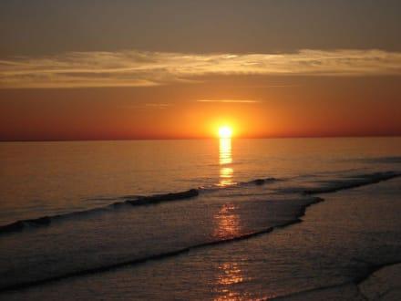 Sonnenuntergang an der Nordsee - Kniepsand