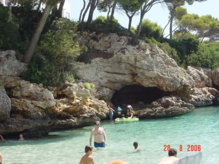 Bucht Cala Esmeralda - Cala Esmeralda