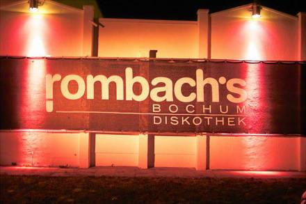 Rombach´s Discothek Bochum - Discothek Rombachs
