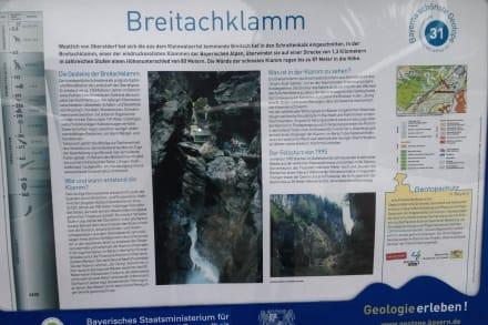 Beschreibung Breitachklamm - Breitachklamm
