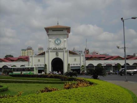 Cho Ben Thanh Markt in Saigon - Ben-Thanh-Markt