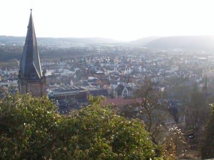 Aussicht - Landgrafenschloss Marburg