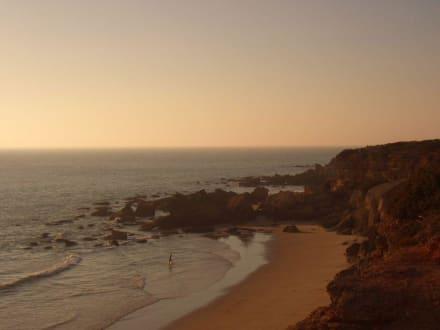 Einsame Bucht am Abend - Strand Zahara de los Atunes