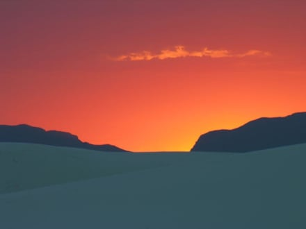 White Sands NM - White Sands National Monument