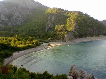 Die Bucht von Cirali / Olympos - Strand Cirali