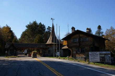 Eingangstor White Face Mountain - Adirondack State Park