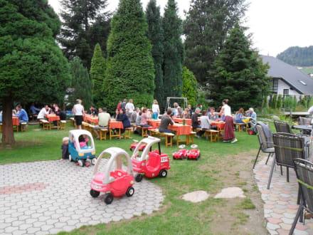 Gartenanlage - Ferienhotel Trattnig
