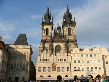 Tempel/Kirche/Grabmal - Teynkirche