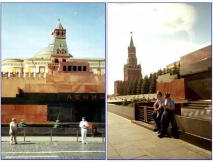 Das Lenin Mausoleum - Lenin Mausoleum