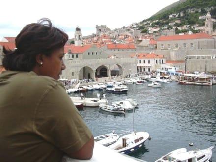 Stadthafen von Dubrovnik - Hafen Dubrovnik