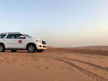 Fahrzeug - Wüstentour Dubai