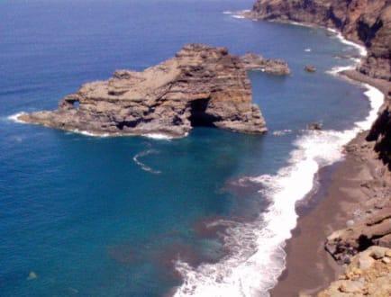 einsamer Strand - Tauchbasis Buceo Sub La Palma Los Cancajos