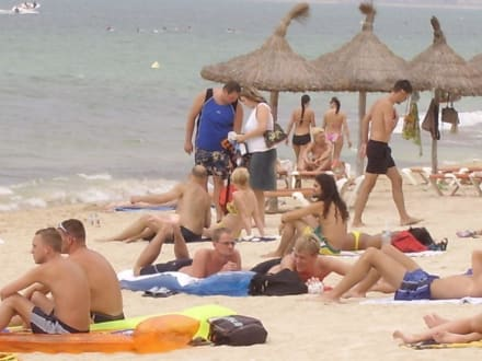 Strand in El Arenal - Strand El Arenal/S'Arenal
