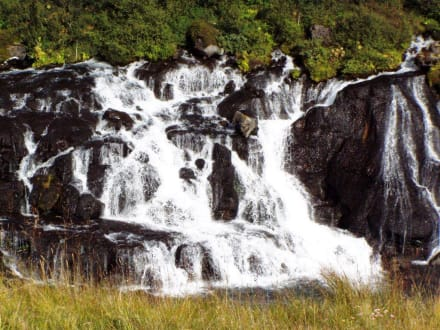 Hraunfossar - Hraunfossar Wasserfälle