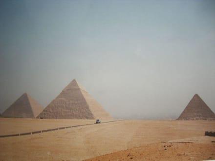 Welch ein Anblick - Pyramiden von Gizeh