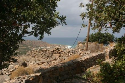 Auf dem Weg zur Milatos-Höhle - Milatos-Höhle