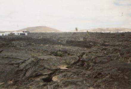 Vulkanlandschaft auf Lanzarote - Nationalpark Timanfaya (Feuerberge)