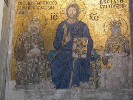 Aya Sofia, Mosaik - Hagia Sophia / Ayasofya