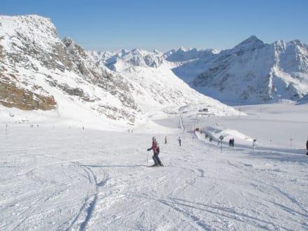 Skipiste - Pitztaler Gletscher