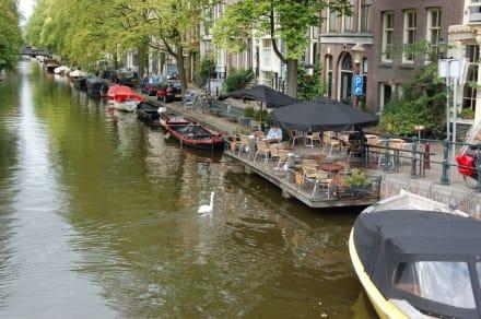 bilder grachten hausboote in amsterdam amsterdam. Black Bedroom Furniture Sets. Home Design Ideas