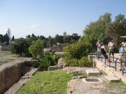 Viel ist nicht mehr zu sehen - Ausgrabungen Karthago