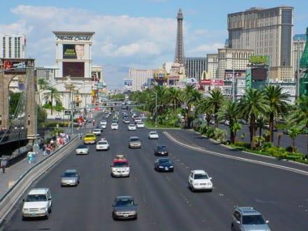 Der Strip am Tag - Las Vegas Strip