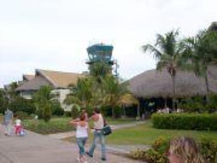 Luftiger Flughafen. Sehenswert - Flughafen Punta Cana (PUJ)