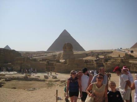 Tempel/Kirche/Grabmal - Pyramiden von Gizeh