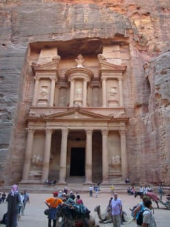 Felsenstadt Petra - Schatzhaus des Pharao / Khazne al-Firaun