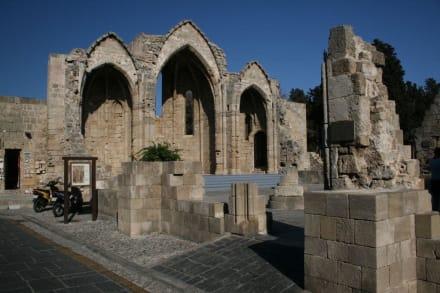 Rhodos Stadt - Kirche der Jungfrau de Burgh
