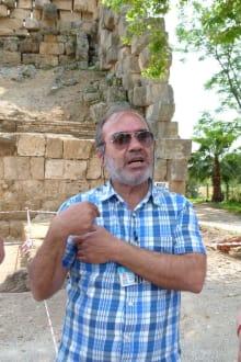 Mehmet Kelas - unser erster Reiseführer - Efe's Ausflüge