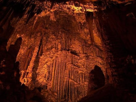 Immer 18° C ... - Höhlen von Arta/Cuevas de Artá