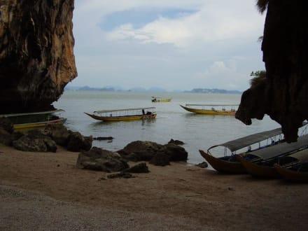 Longtail Boote - Khao Phing Kan - James Bond Felsen