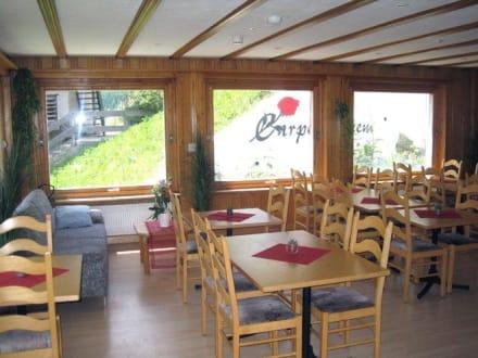 Speisesaal - Hotel Carpe Diem