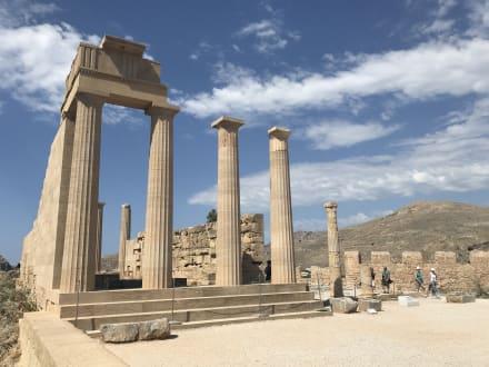 Acropolis von Lindos - Akropolis von Lindos