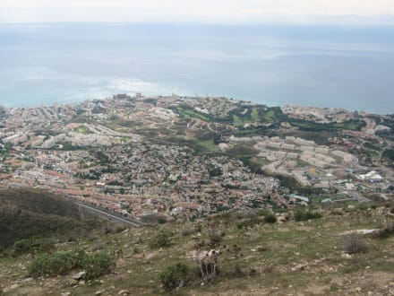 Ausblick - Mount Calamorro