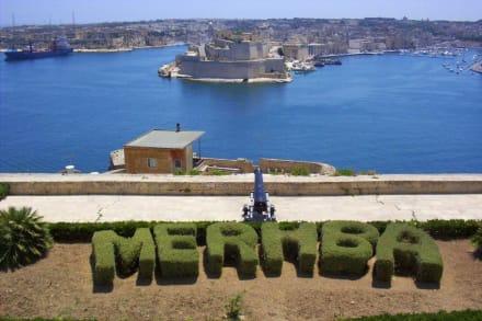 Willkommen in Valletta - Hafen Valletta
