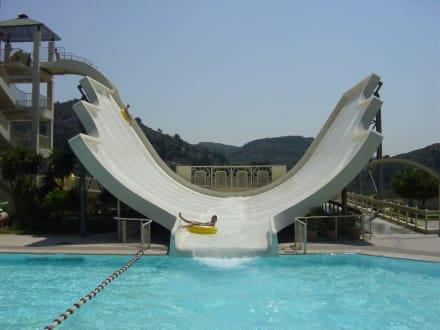Giant Slide - Waterpark Faliraki