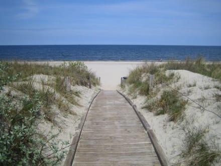 Auf dem weg zum Strand - Strand Ahlbeck