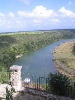Blick auf den Chavon - Rio Chavon