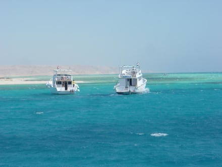 Bootstour in Hurghada - Giftun / Mahmya Inseln
