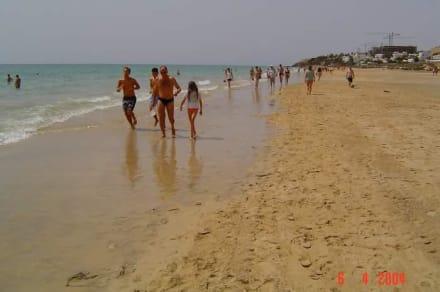 Der Strand von Costa Calma - Strand Costa Calma
