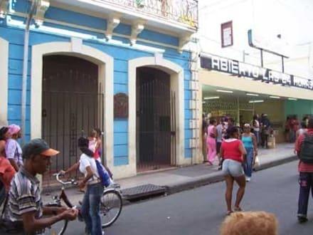 Öffentliche Toilette - Altstadt Santiago de Cuba
