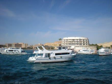 Blick auf  Hurghada - Ausflug nach El Gouna