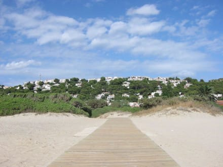 Strand von Son Bou - Playa de Son Bou