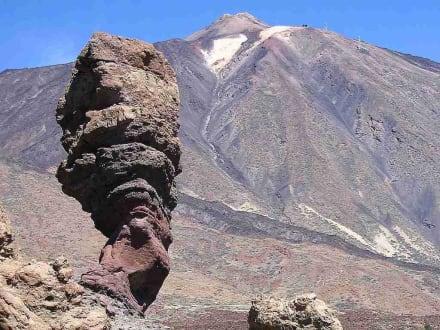Blick zum Pico del Teide - Teide Nationalpark